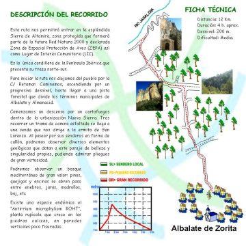 Ruta del Fin del Mundo - Albalate de Zorita, Guadalajara