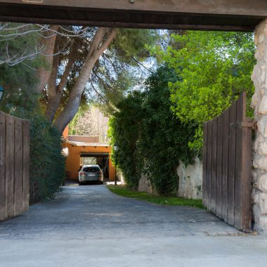 Entrada a la casa · Villa Zorita, Casa Rural en Albalate de Zorita