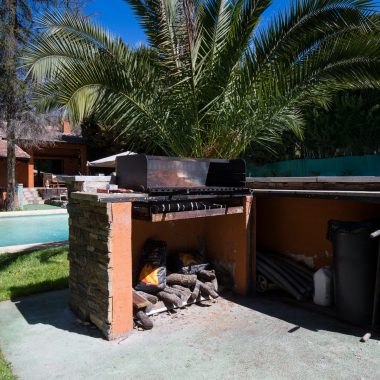 Barbacoa · Villa Zorita, Casa Rural en Albalate de Zorita