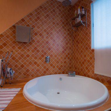 Baño en suite · Villa Zorita, Casa Rural en Albalate de Zorita
