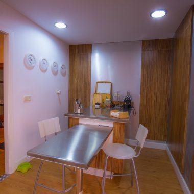 Mesa para comer en cocina · Villa Zorita, Casa Rural en Albalate de Zorita