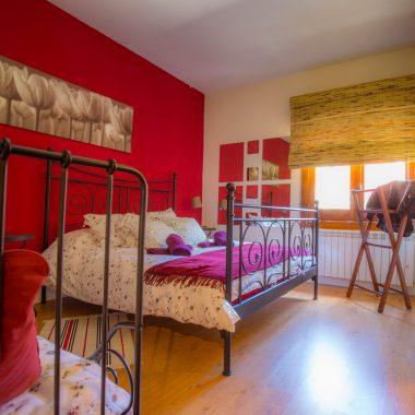 Habitación dos camas · Villa Zorita, Casa Rural en Albalate de Zorita