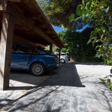 Parking · Villa Zorita, Casa Rural en Albalate de Zorita