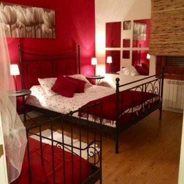 Casa rural Villazorita, Albalate de Zorita . Dormitorios